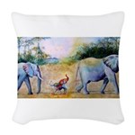 Celebrating the Differences Woven Throw Pillow