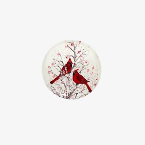 Cardinal Clan Mini Button