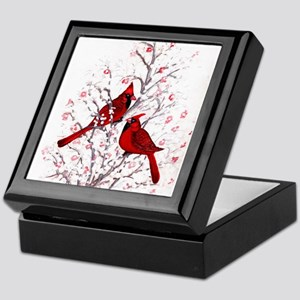 Cardinal Clan Keepsake Box