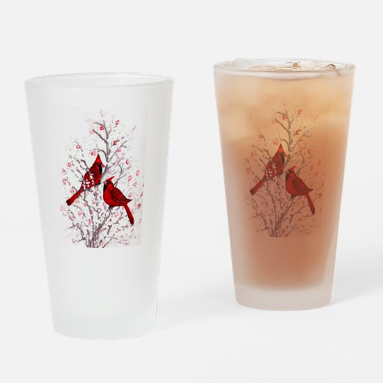 Cardinal Clan Drinking Glass
