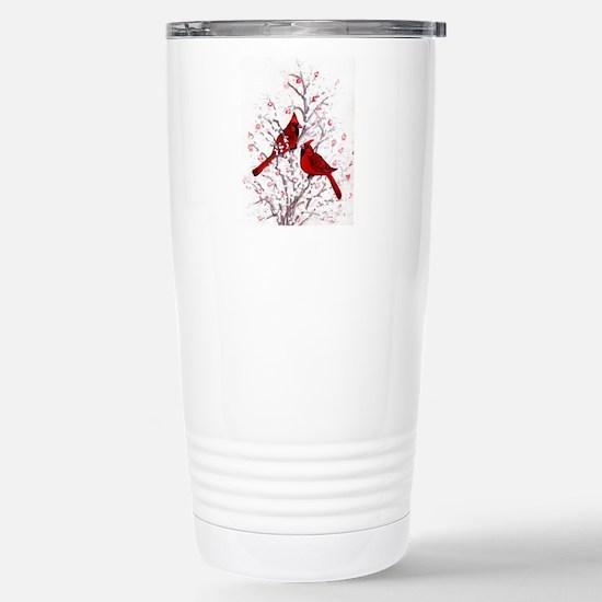 Cardinal Clan Travel Mug