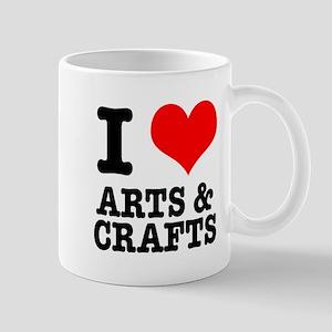 I Heart (Love) Arts & Crafts Mug
