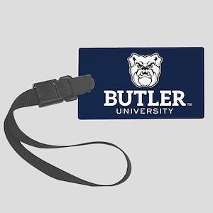 Butler University Bulldog Large Luggage Tag