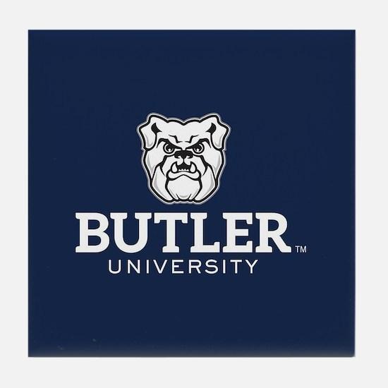 Butler University Bulldog Tile Coaster