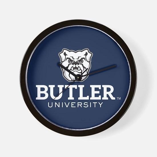 Butler University Bulldog Wall Clock