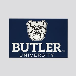 Butler University Bulldog Rectangle Magnet