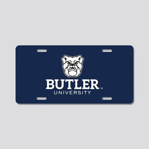 Butler University Bulldog Aluminum License Plate