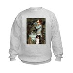 Ophelia & Border Collie Kids Sweatshirt