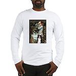 Ophelia & Border Collie Long Sleeve T-Shirt