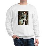 Ophelia & Border Collie Sweatshirt