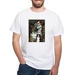Ophelia & Border Collie White T-Shirt