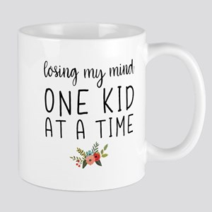 Losing My Mind One Kid At A Time Mugs