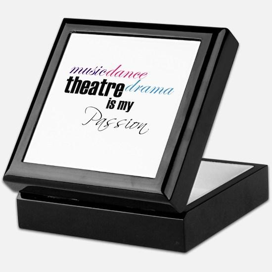 Theatre is my passion Keepsake Box