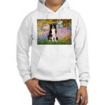 Garden & Border Collie Hooded Sweatshirt