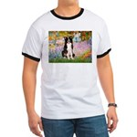 Garden & Border Collie Ringer T