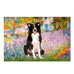 Garden & Border Collie Postcards (Package of 8)