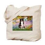 Garden & Border Collie Tote Bag