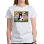Garden & Border Collie Women's T-Shirt