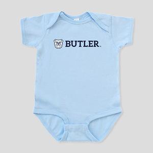 Butler Bulldog Baby Light Bodysuit