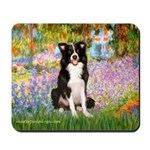 Garden & Border Collie Mousepad