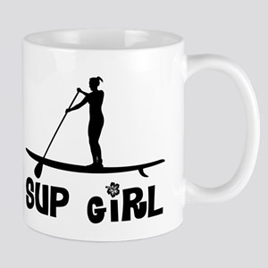 SUP_Girl-b Mugs