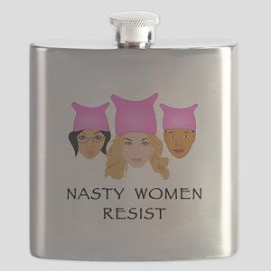 Nasty Women Resist Flask