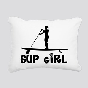 SUP_Girl-b Rectangular Canvas Pillow