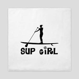SUP_Girl-b Queen Duvet