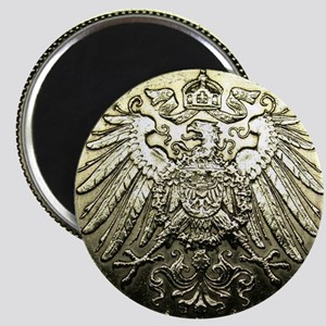 1911 A Germany 1 Mark 90% SILVER GORGEOUS G Magnet