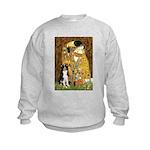 The Kiss & Border Collie Kids Sweatshirt
