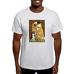 The Kiss & Border Collie Light T-Shirt