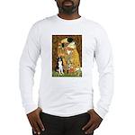 The Kiss & Border Collie Long Sleeve T-Shirt