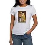 The Kiss & Border Collie Women's T-Shirt