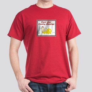 Country Blessings-Hen- Dark T-Shirt