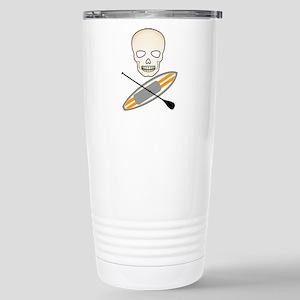 Skull Paddleboard Travel Mug