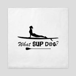 What SUP Dog-b Queen Duvet