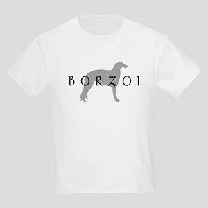 borzoi dog breed Kids Light T-Shirt