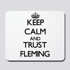 Keep calm and Trust Fleming Mousepad