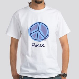 Happiness Peace Sign Women's Pink T-Shirt