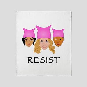 Women Resist Throw Blanket