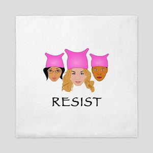Women Resist Queen Duvet