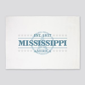 Mississippi 5'x7'Area Rug