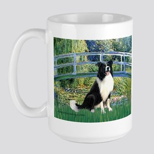 Bridge & Border Collie Large Mug