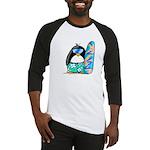 Surfing Penguin Baseball Jersey