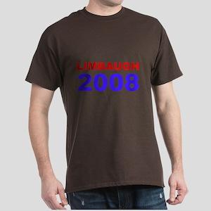 Limbaugh 2008 Dark T-Shirt