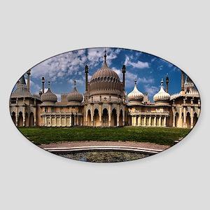 The Royal Pavilion  Sticker (Oval)