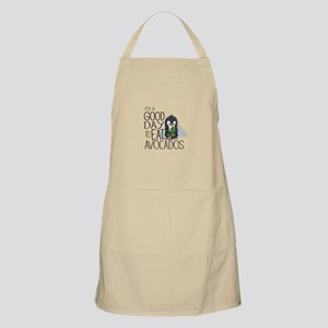 Its a Good Day to Eat Avocados Penguin Light Apron