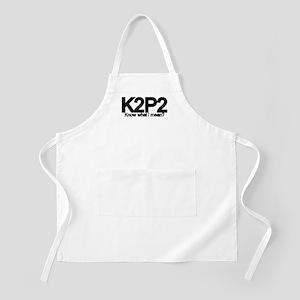 K2P2 Knit & Purl BBQ Apron