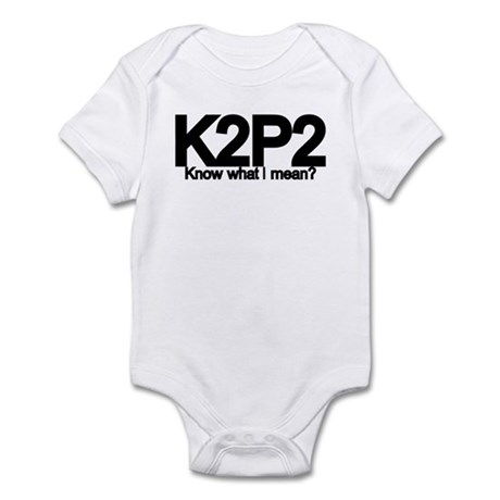 K2P2 Knit & Purl Infant Bodysuit