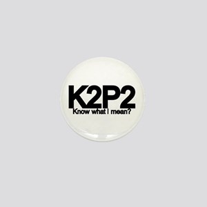 K2P2 Knit & Purl Mini Button